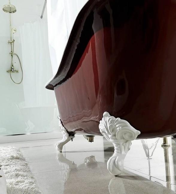 ванна чугунная на ножках