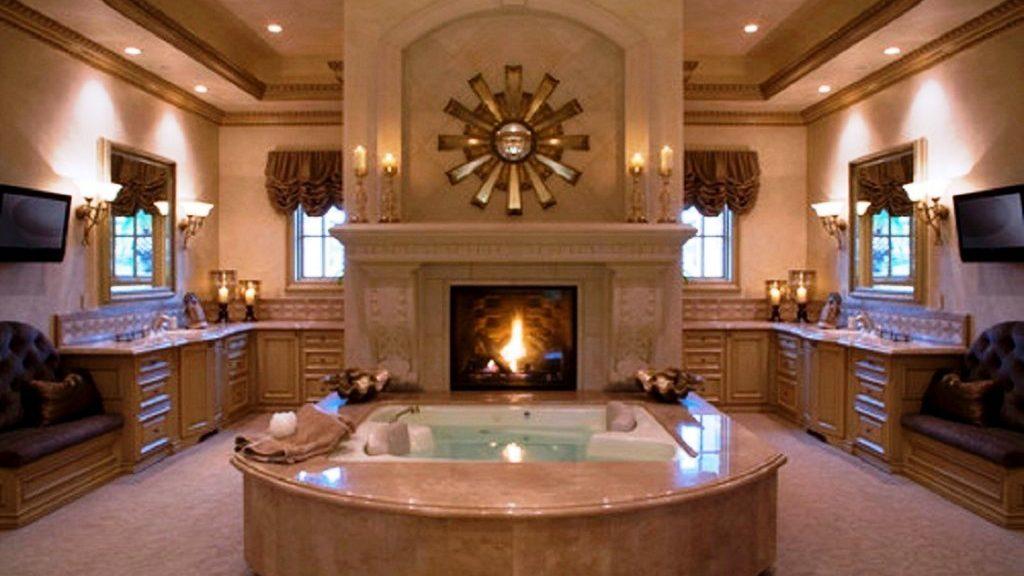 дизайн-проект большой ванной комнаты