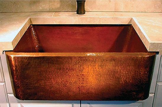 раковина для ванной комнаты в стиле рустик