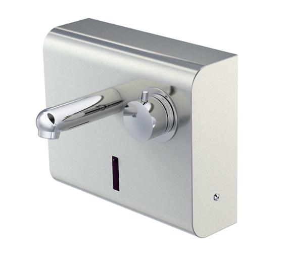 iqua смеситель бесконтактный для настенной установки