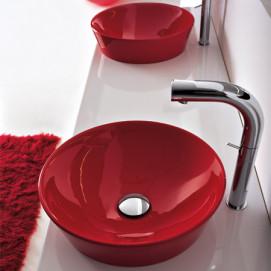 30151 TECNO раковина Althea Ceramica красная