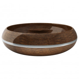 Круглая ванна из дерева EGOIST Ammonitum