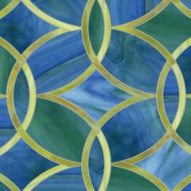 Beau Monde Ann Sacks мозаика настенная из стекла ручного литья Polly