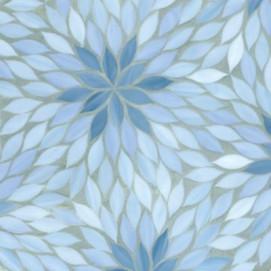 Beau Monde Ann Sacks мозаика настенная из стекла ручного литья Blossom