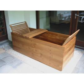 ZENDERA прямоугольная ванна из бука