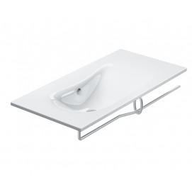 Impronta Catalano раковина-столешница консольная/навесная 100/125 см с полотенце держателем