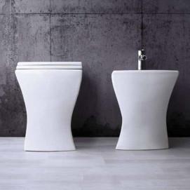 Crazy Ala Ceramica напольный унитаз и биде в современном стиле