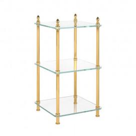 Полка этажерка для ванной классика Cristal et Bronze