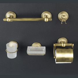 Etoile De Paris аксессуары для ванной настенные классика Cristal et Bronze
