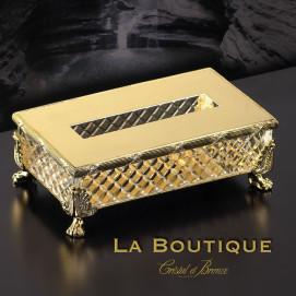 Prestige Cristal et Bronze салфетница из хрусталя 30085