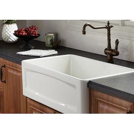 Hillside DXV мойка премиум для кухни полувстраиваемая из керамики 51х46 | 61х46 | 76х46 | 83х46 см