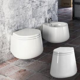 Catino Catino Disegno ceramica унитаз напольный или подвесной, белый или черный