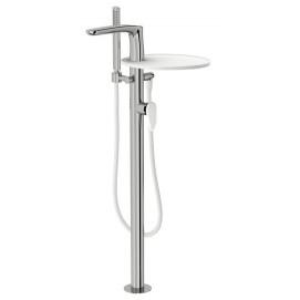 SYNERGY STONE 95 Fir Italia смеситель для ванны с полочкой