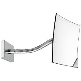 Косметическое зеркало (и для бритья) увеличительное для ванной настенное на гусиной шее Fir Italia