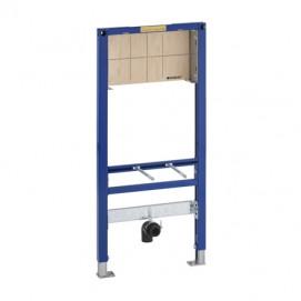 Duofix монтажный элемент для подвесного умывальника со встроенным в стену смесителем, высота 112-130 см