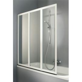 Combinett 2 Huppe 3х-панельная шторка рамное для ванной полностью складная
