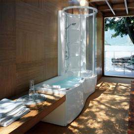 J-twin premium Jacuzzi прямоугольная комбинированная ванна 170х70