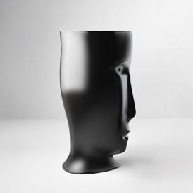 Kerasan Artwork черная раковина напольная в форме головы Moloco