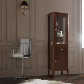 Retro Kerasan шкафчик напольный из дерева для ванной в классическом стиле  465х34х160,5h мм, орех