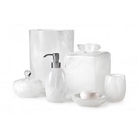 Bianca Labrazel аксессуары для ванной из молочно матового стекла