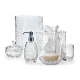 Carina Labrazel аксессуары для ванной из стекла с кракелюрами