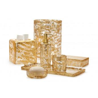 LYDIA GOLD Labrazel аксессуары для ванной из хрусталя и золото