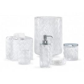 Basketweave Labrazel элегантные аксессуары для ванной комнаты