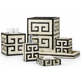 Greek Key Labrazel аксессуары для ванной из перламутра с орнаментом меандр
