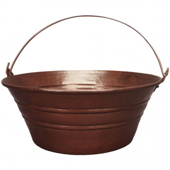 C049 раковина ведро из бронзы хандмейд в стиле лофт BUCKET SINK Linkasink