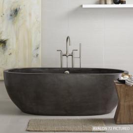 Avalon ванна из бетона овальная 160 или 180 см