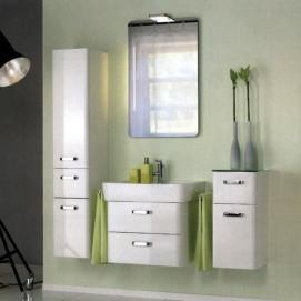 Комплект мебели Pelipal Arrondi, Белый лаковый, 300/600/300 мм