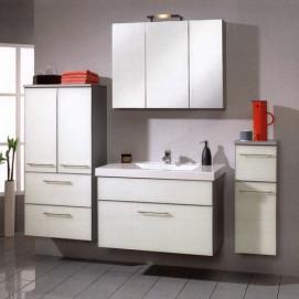 Комплект мебели Pelipal Berry, Стекло белое, 600/900/300 мм