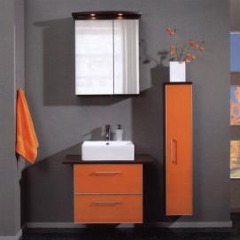 Комплект мебели Pelipal Berry, Стекло оранжевое, 250/800 мм