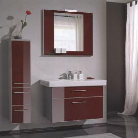 Комплект мебели Pelipal Berry, Стекло красное, 300/1000 мм