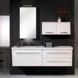 Комплект мебели Pelipal Oblique, Белый лаковый высокоглянцевый, 1690 мм