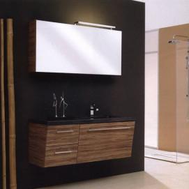 Комплект мебели Pelipal Oblique, Декор-оливка, 1270 мм