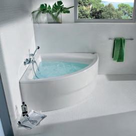 Easy Симметричная угловая акриловая ванна с гидромассажем Tonic 248188..1 Roca