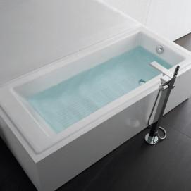 233850 Tampa Roca Прямоугольная чугунная ванна с противоскользящим покрытием