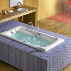 230270 Ming Roca чугунная ванна с противоскользящим покрытием и ручками