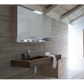 01 Aspen Arbi мебель для ванной с консольной раковиной