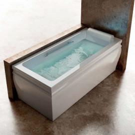 Blanque 1880 Gruppo treesse ванна из акрила прямоугольная отдельностоящая с/без гидромассажем 180х100