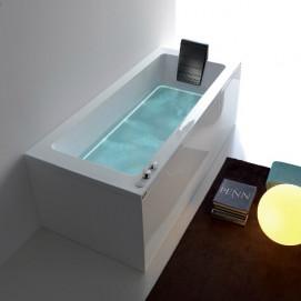 Dream Gruppo treesse ванна прямоугольная 170/180/190 см  с гидромассажем и хромотерапией Ghost System