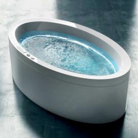 Dream 190 Gruppo treesse ванна овальная 190х110см с гидромассажем и хромотерапией Ghost System