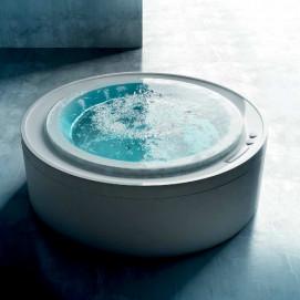 Fusion 200 Gruppo treesse ванна круглая 200см с гидромассажем и хромотерапией Ghost System