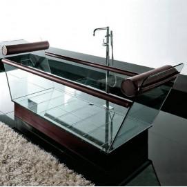 Снято! Ванна из стекла MILO Gruppo Treesse
