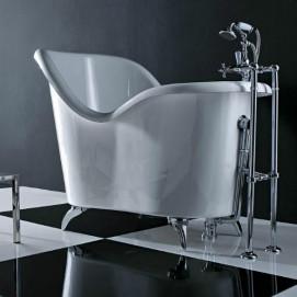 Moulin Gruppo Treesse классическая ванна на ножках 135х80х102см.