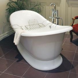 Marlborough Victoria+Albert ванна из минерального литья классика на подиуме 190х87