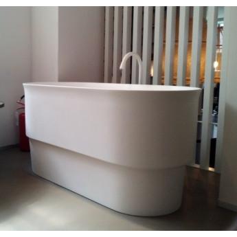 Immersion Agape ванна овальная глубокая отдельностоящая из Cristaplant 142х70х72 см
