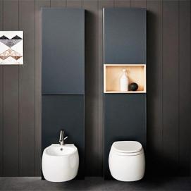 Agape Monolith санитарный модуль (внешний бизайнерский бачок) для  приставного или подвесного биде и унитаза