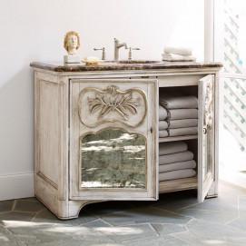 Laurel мебель для ванной классика из массива дерева 122см Ambella